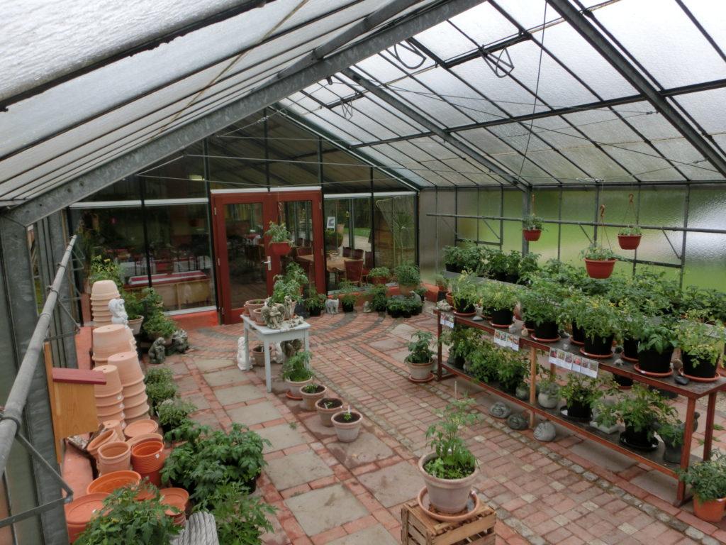 Töpfe, Dünger, Pflanzen und Zubehör. Eine extrem kleine Auswahl im Vergleich zum Baumarkt aber immer dafür nur ökologisch.