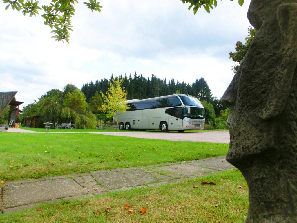 Wir freuen uns auf die vielen Busgruppen.