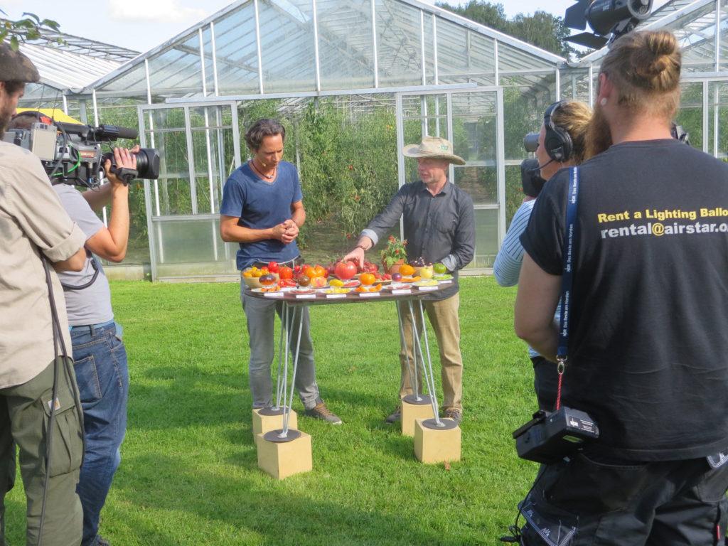 Das Dreamteam zeigt euch bunte Tomaten. Schaut auch auf YouTube!