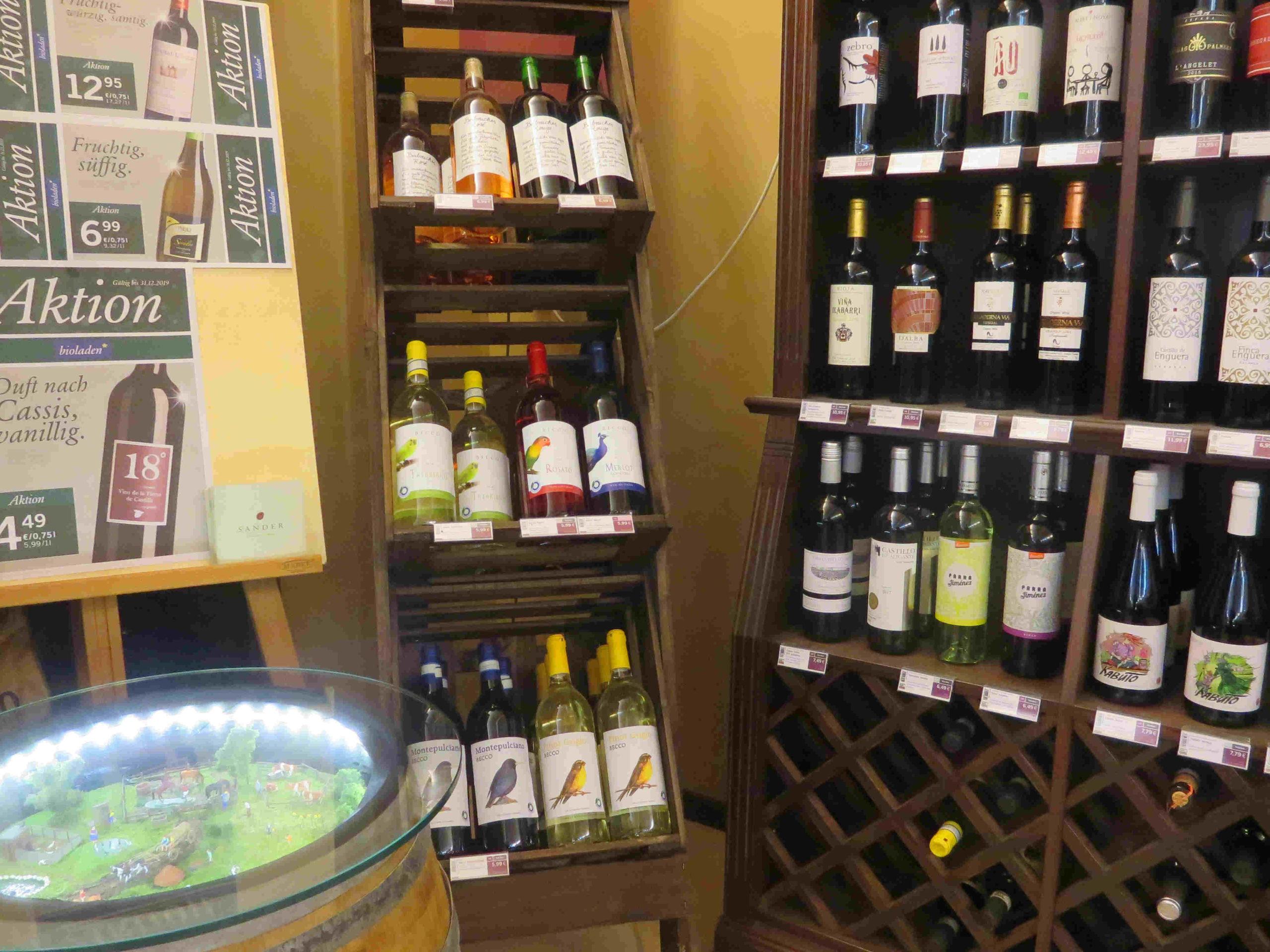 Mehrweg Wein
