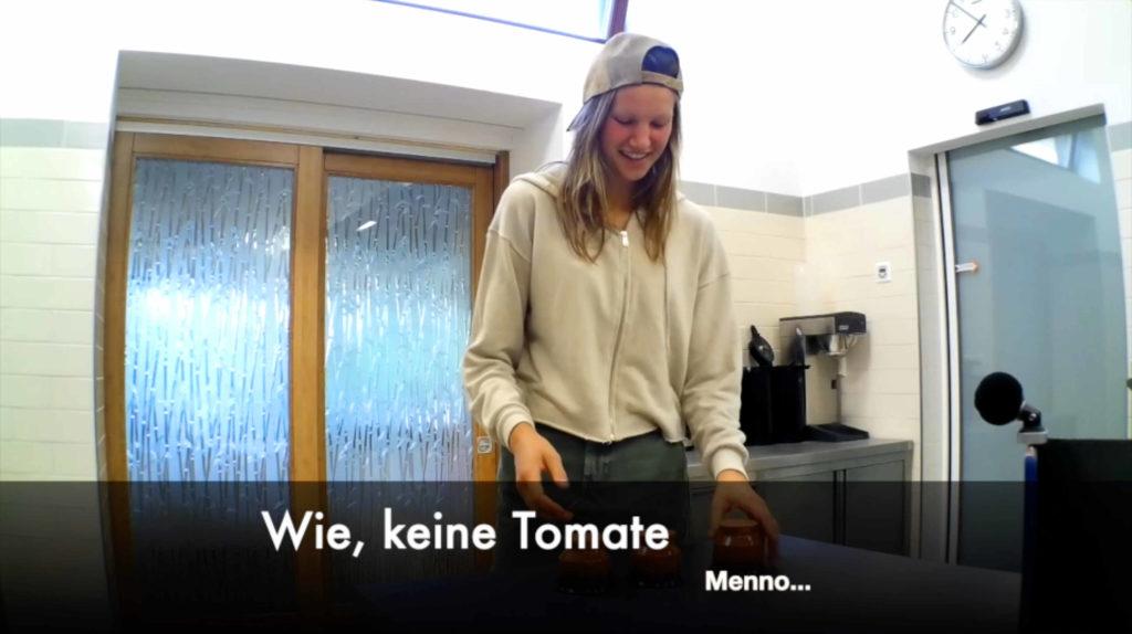 Tomaten-Magie. Wir zeigen dir, wie wir unglaubliche Zaubertricks mit unseren Tomaten machen können.